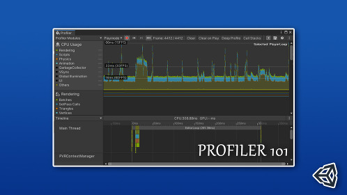 Unity 3D How to Use Profiler to Optimize Your Code - Thumbnail