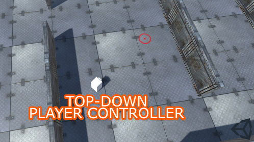 Unity 3D Top-Down Character Controller - Thumbnail