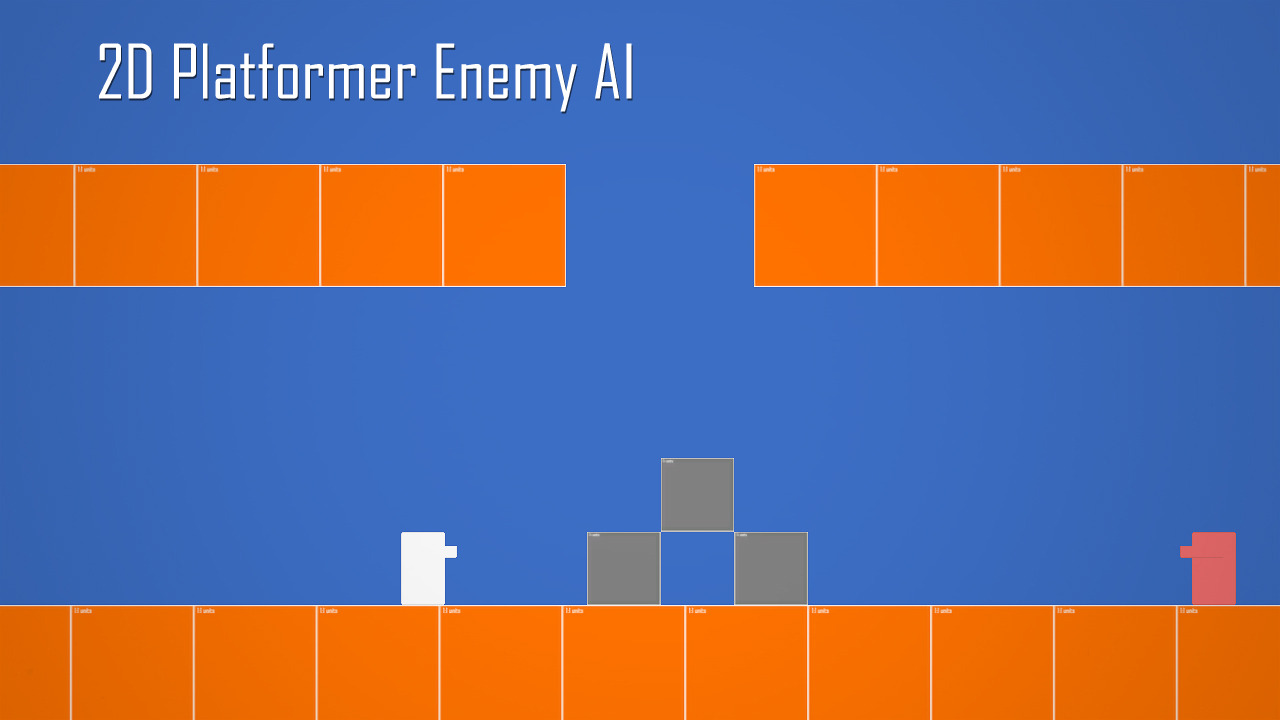 Unity 3D Enemy AI for 2D Platformer