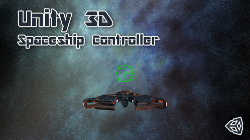 Spaceship Controller in Unity 3D - Thumbnail