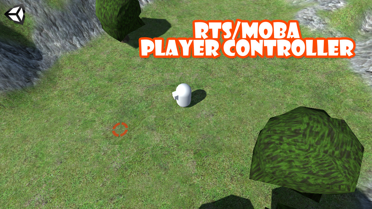 Unity 3D RTS/MOBA Player Controller - Sharp Coder