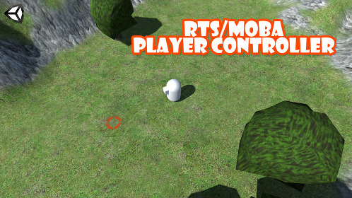 Unity 3D RTS/MOBA Player Controller - Thumbnail