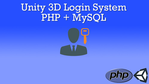 Unity 3D Login System With PHP and MySQL - Thumbnail