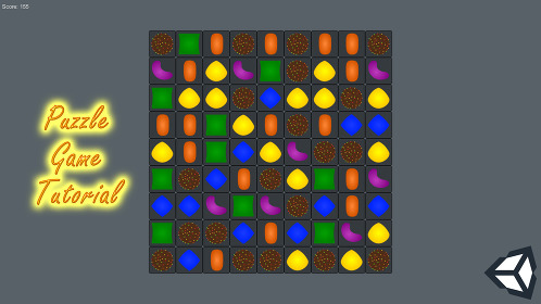 Puzzle Game in Unity 3D - Thumbnail