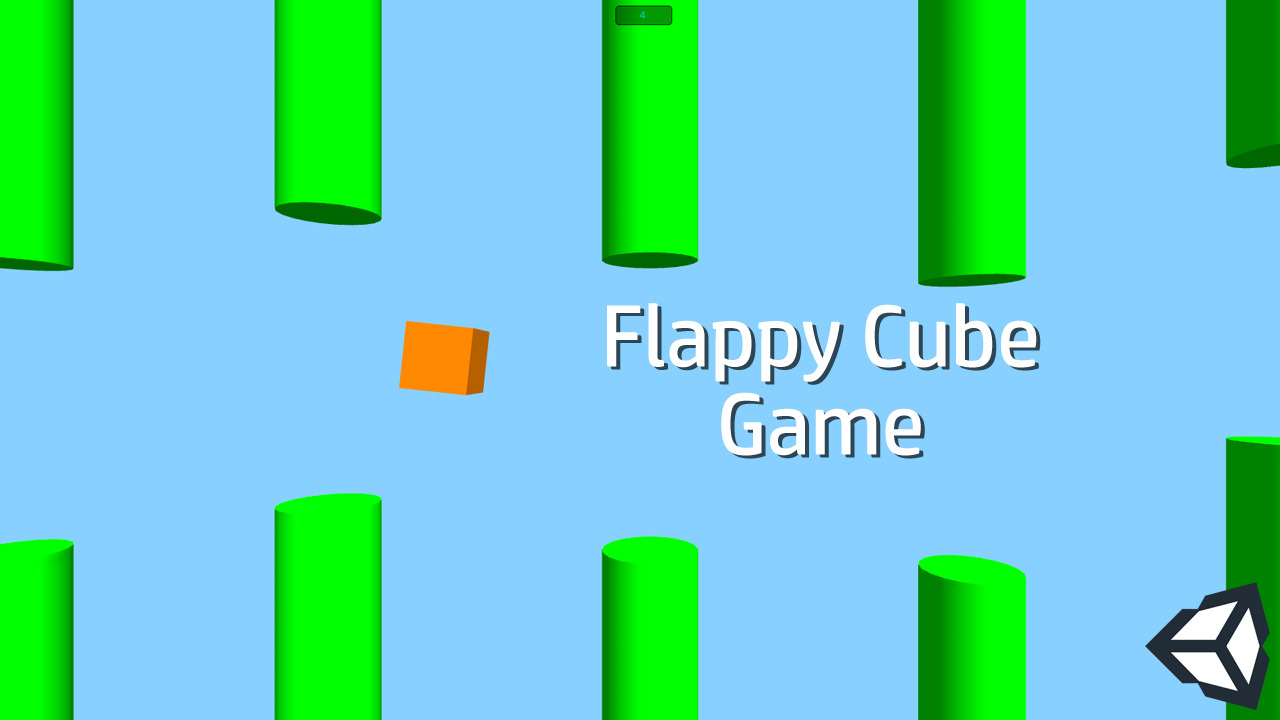 Flappy Cube Game in Unity 3D