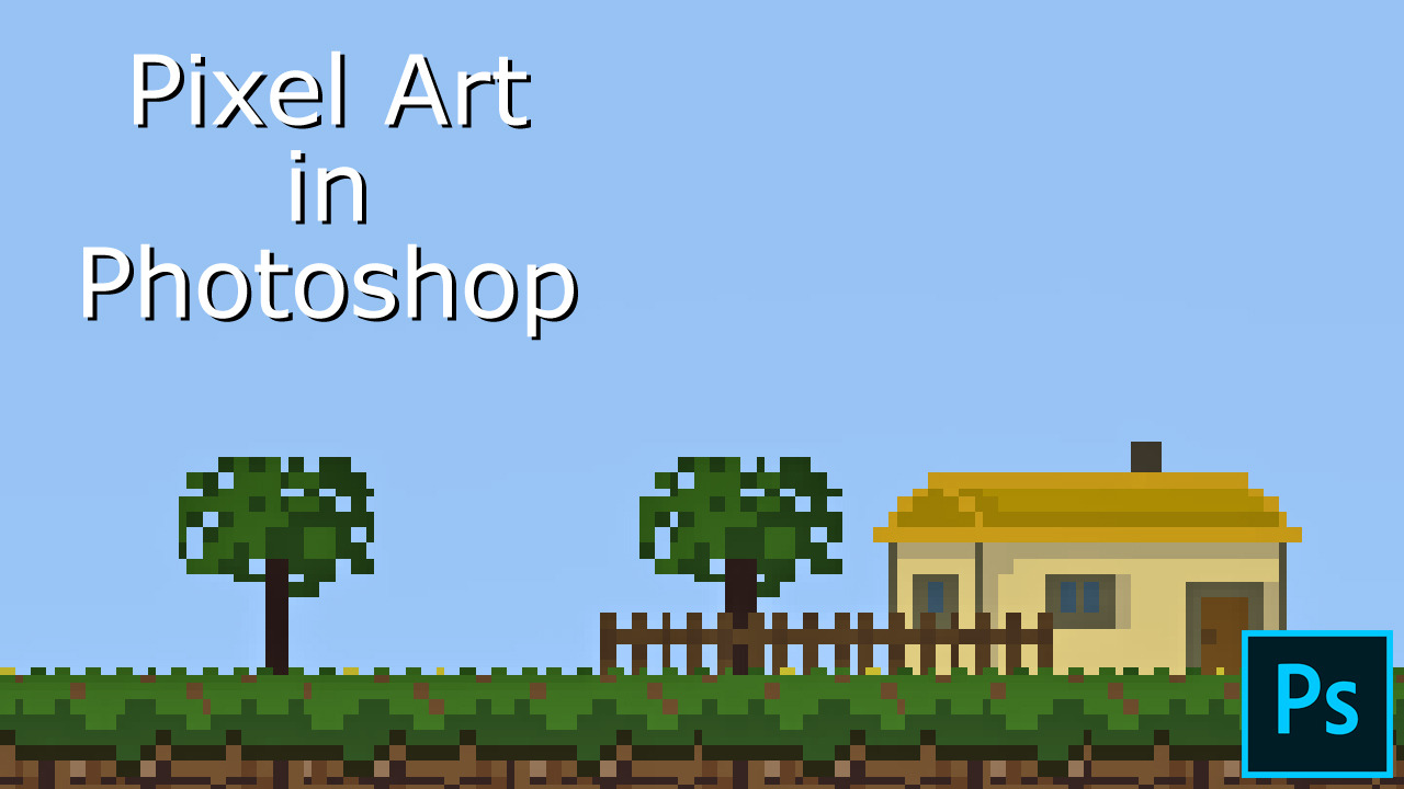 How to Make Pixel Art Using Photoshop