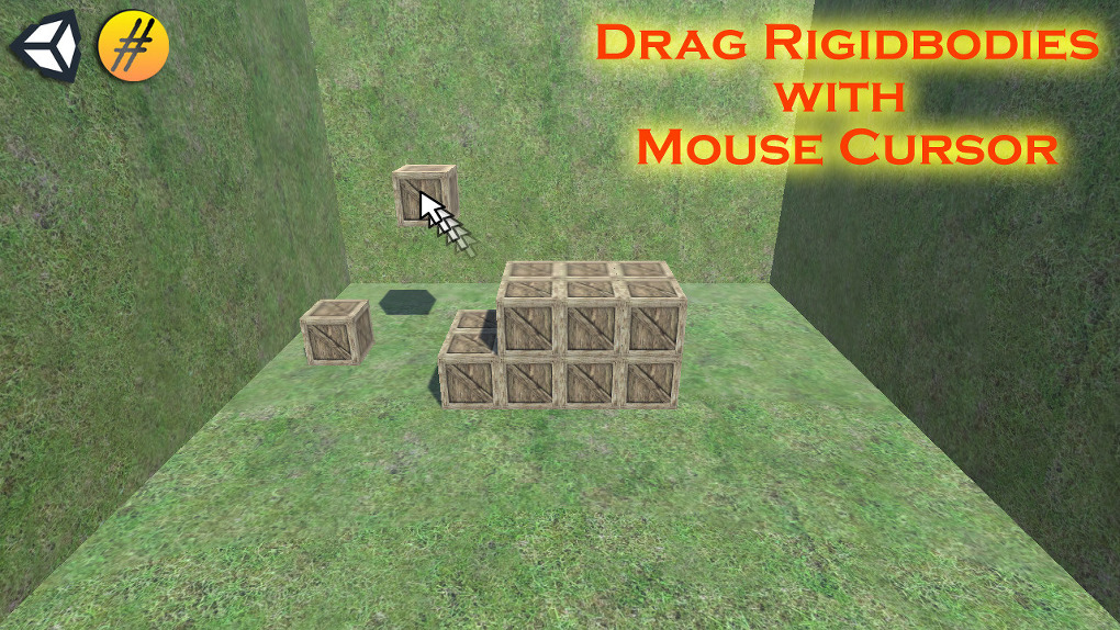 Unity 3D Drag Rigidbody With a Mouse Cursor
