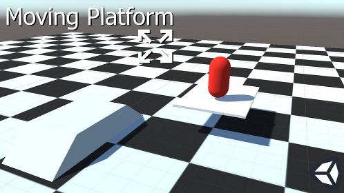 Unity 3D Character Controller Moving Platform Support - Thumbnail