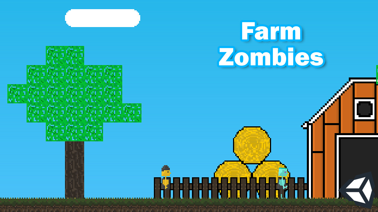 Farm Zombies: 2D Platformer in Unity 3D
