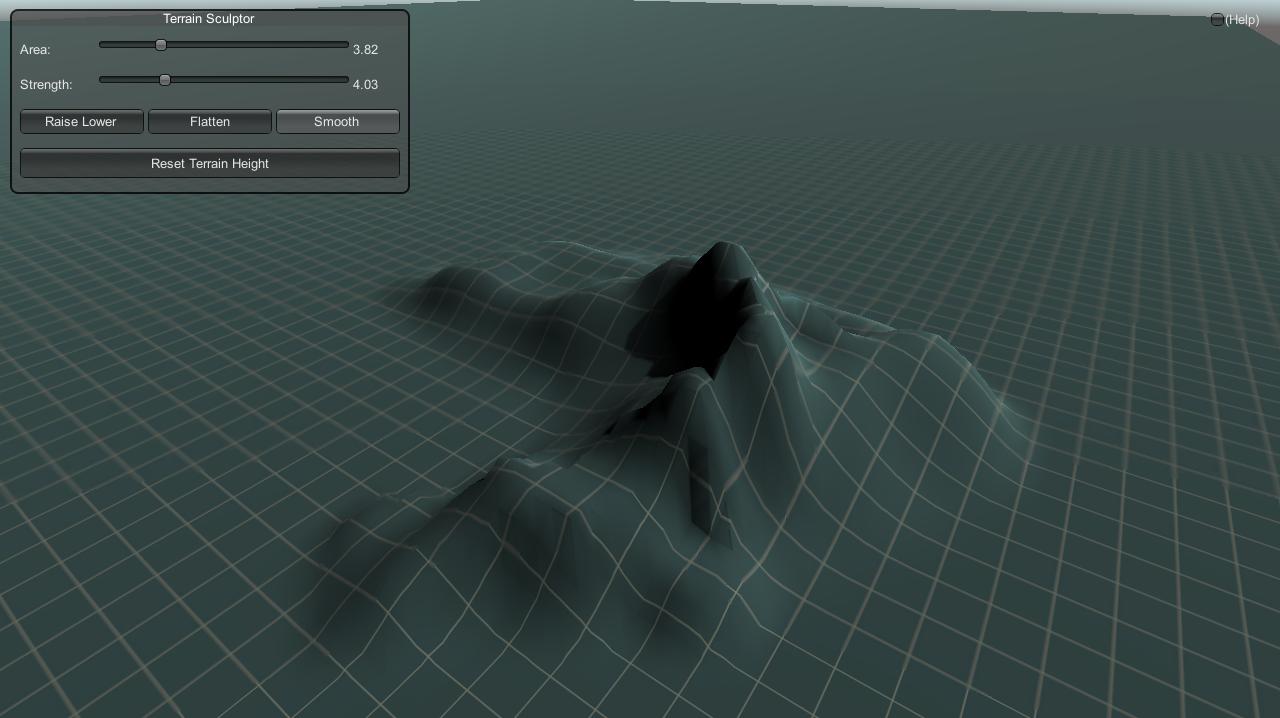 Unity 3D Runtime Terrain Editor - Sharp Coder