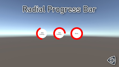 Unity 3D Radial/ Circular Progress Bar Tutorial - Thumbnail