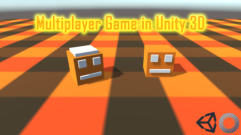 Make a Multiplayer Game in Unity 3D Using PUN 2 - Thumbnail