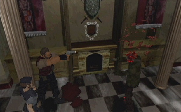 Resident Evil 1  Screenshot