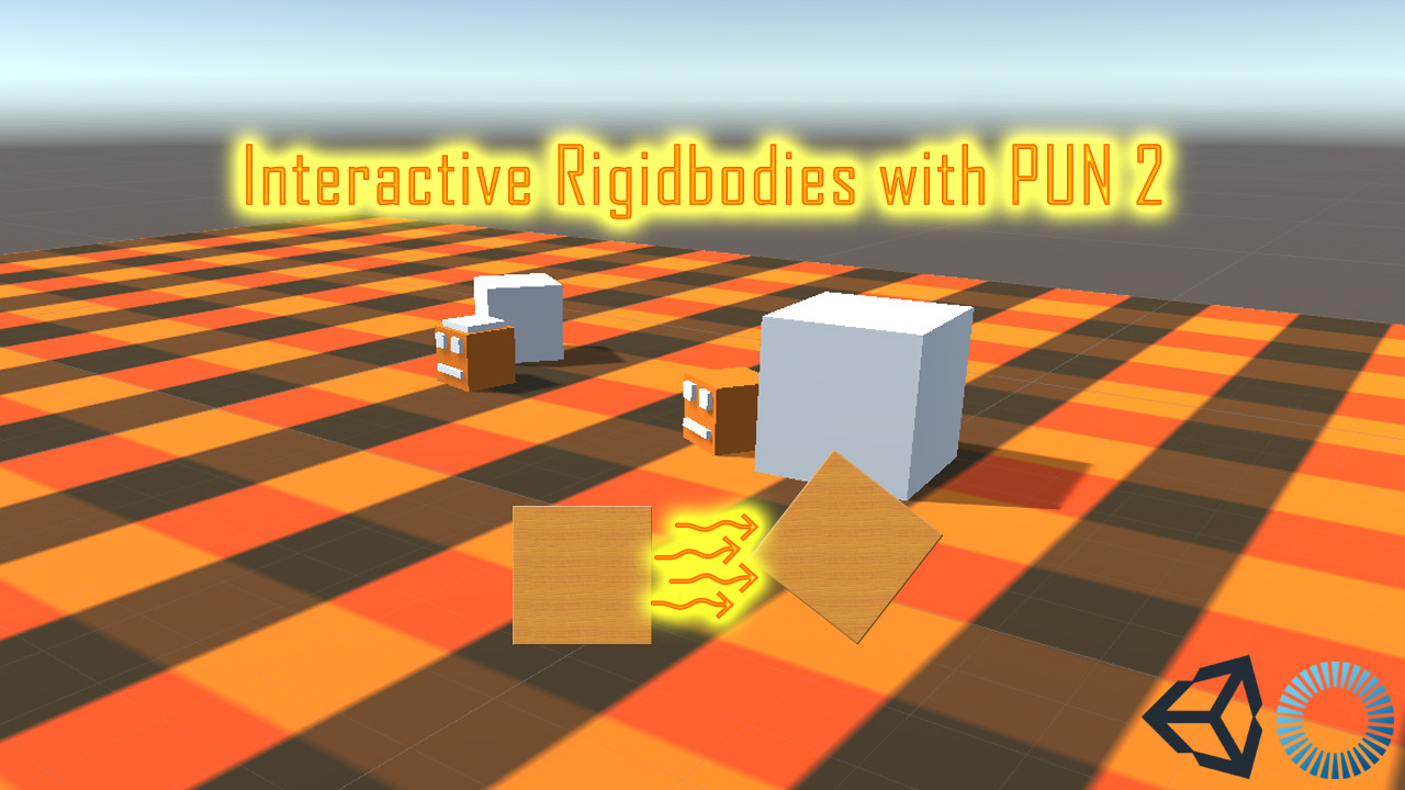 Sync Rigidbodies Over Network Using PUN 2
